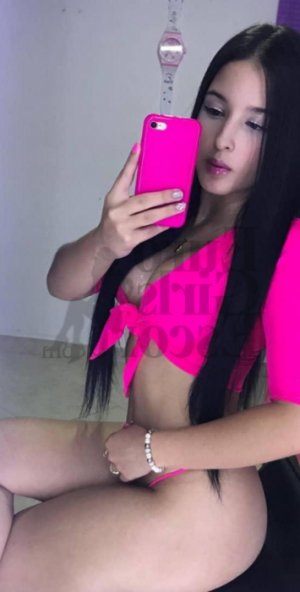 Selinay ebony escort girl, erotic massage